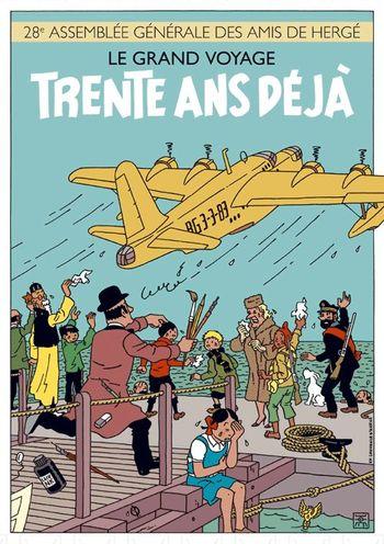 Hergé est mort il y a 30 ans