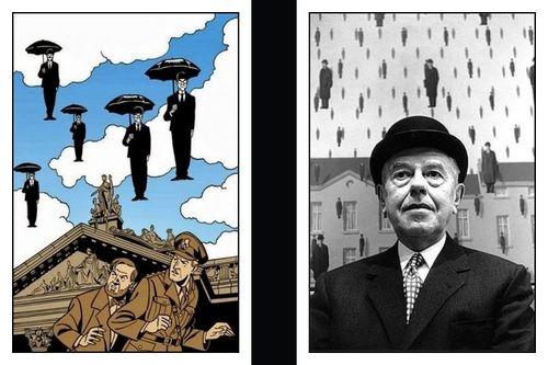 Magritte de Steve Schapiro