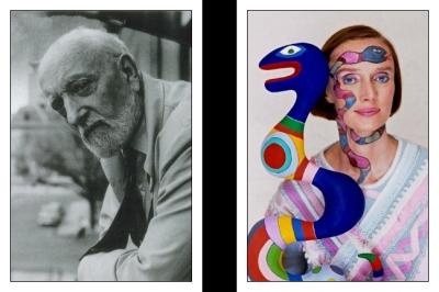 06 Ernest Ansermet et Niki de Saint Phalle